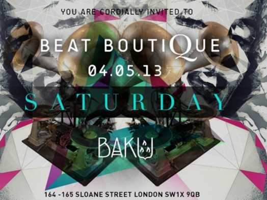 May 4th 2013 i baku london dirty law latest news for The beat boutique